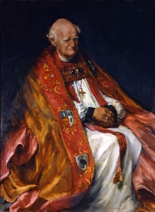 St. Arthur Michael Ramsey, Archbishop of Canterbury (1961 - 74). His books should be read by all serious Anglicans.